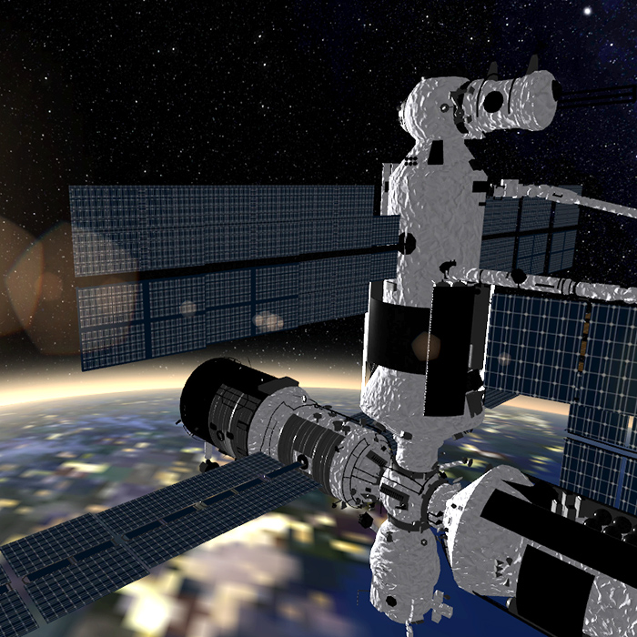 Solar Engine Screenshot - ISS