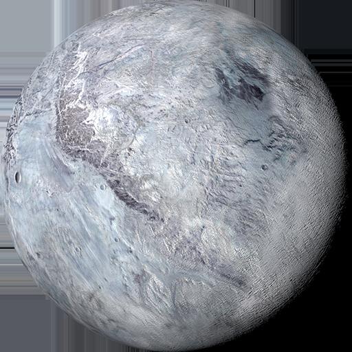 pluto planet cartoon - 512×512